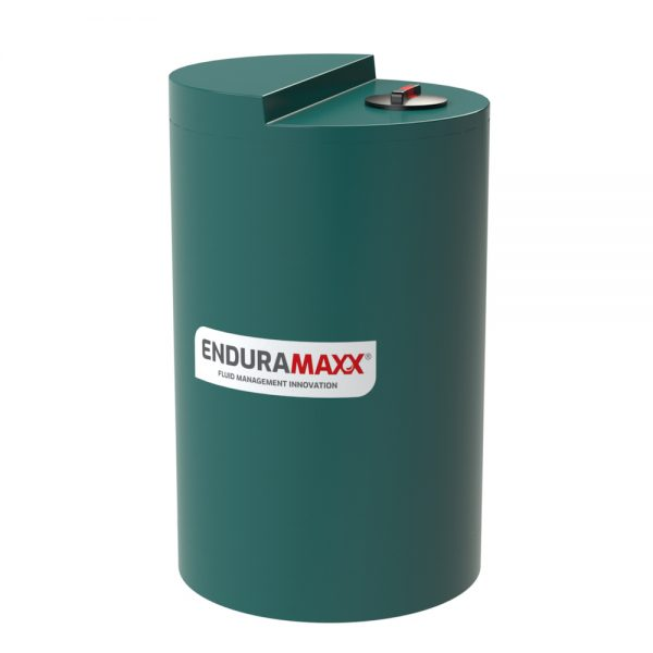 1,000 Litre Chemical Dosing Tank Stepped Lid - Green