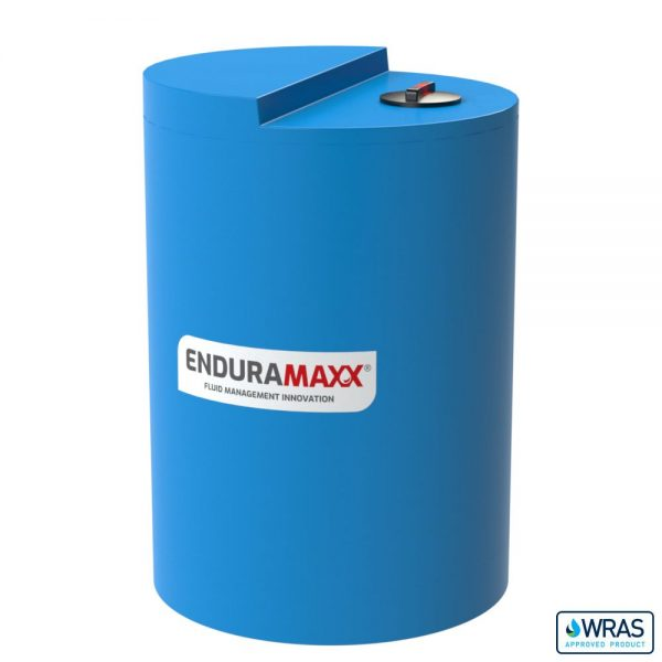 1,500 Litre Chemical Dosing Tank Stepped Lid - Blue