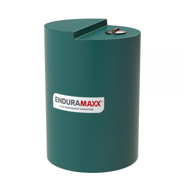 1,500 Litre Chemical Dosing Tank Stepped Lid - Green