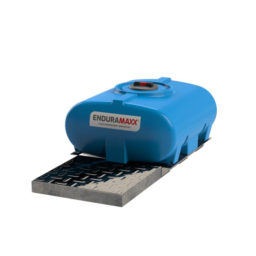 171005-500-Litre-Horizontal-Tank-with-pump-plate-Blue