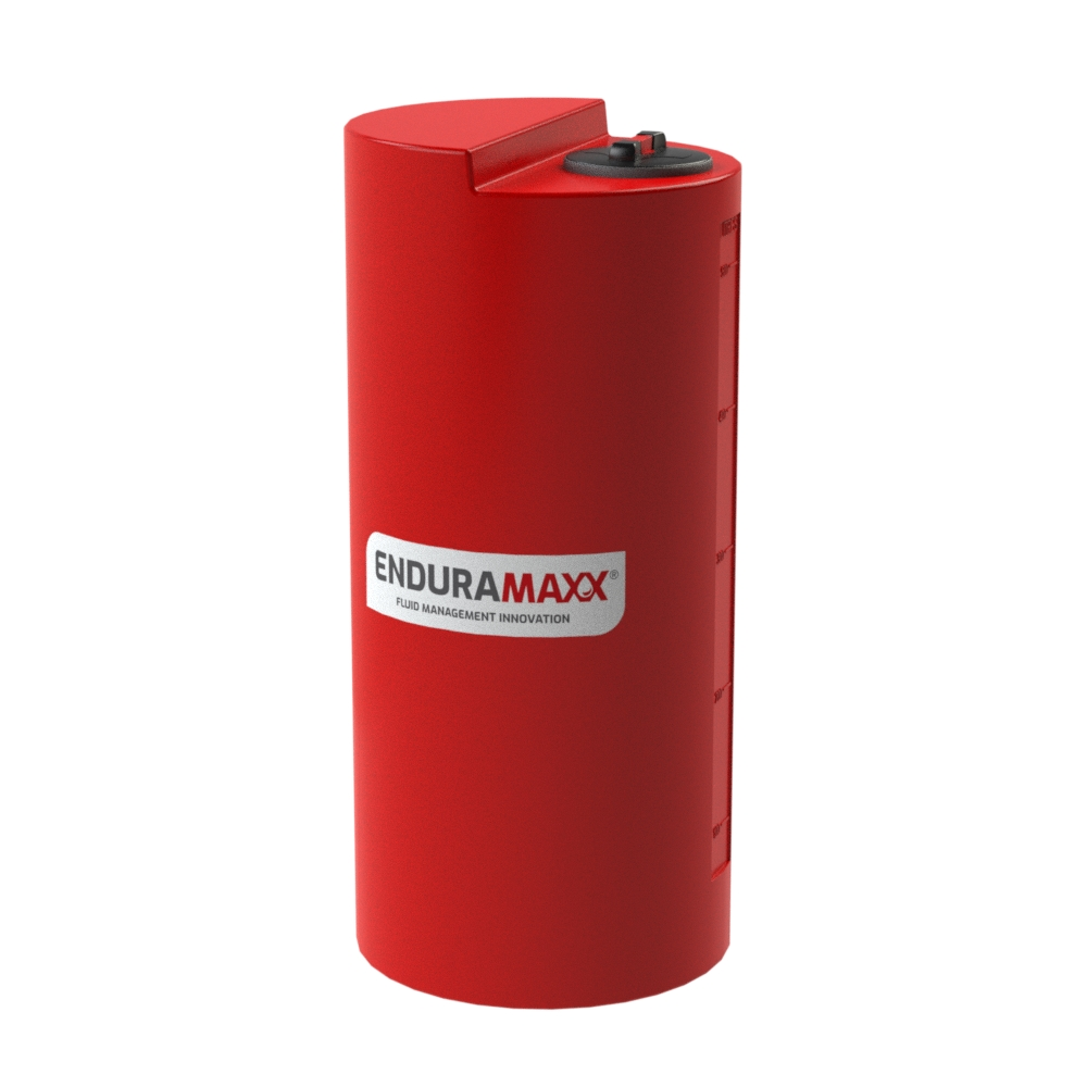 172705 500 Litre Chemical Dosing Tank Red
