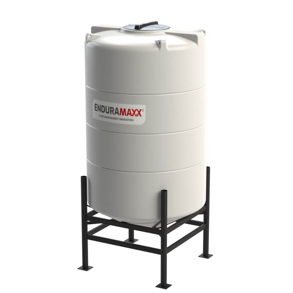1752083002-F-2100-Litre-Cone-Tank-With-Frame-Natural