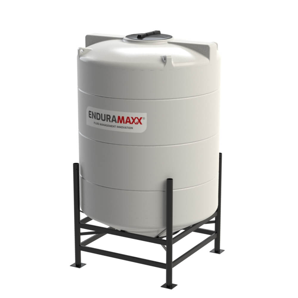 1752103002-F-2700-Litre-Cone-Tank-With-Frame-Natural