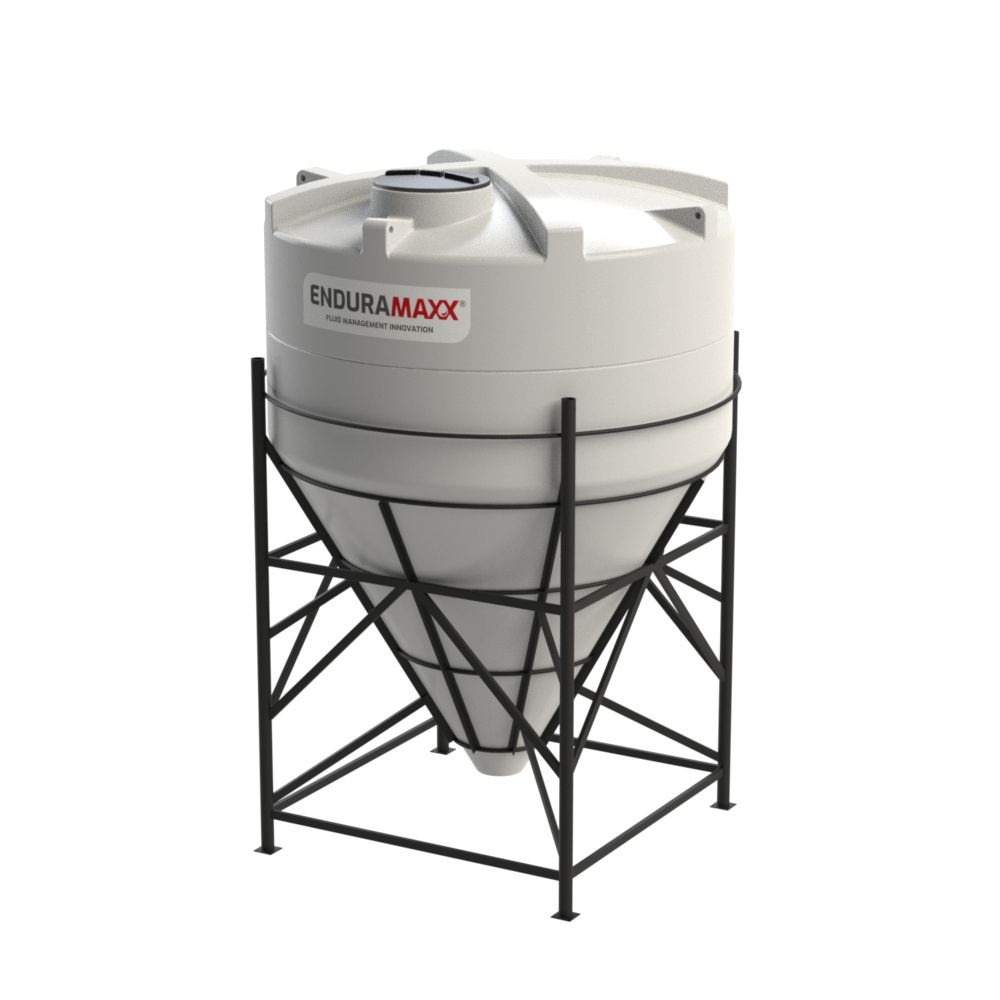 10,000 Litre 60° Closed Top Cone Tank