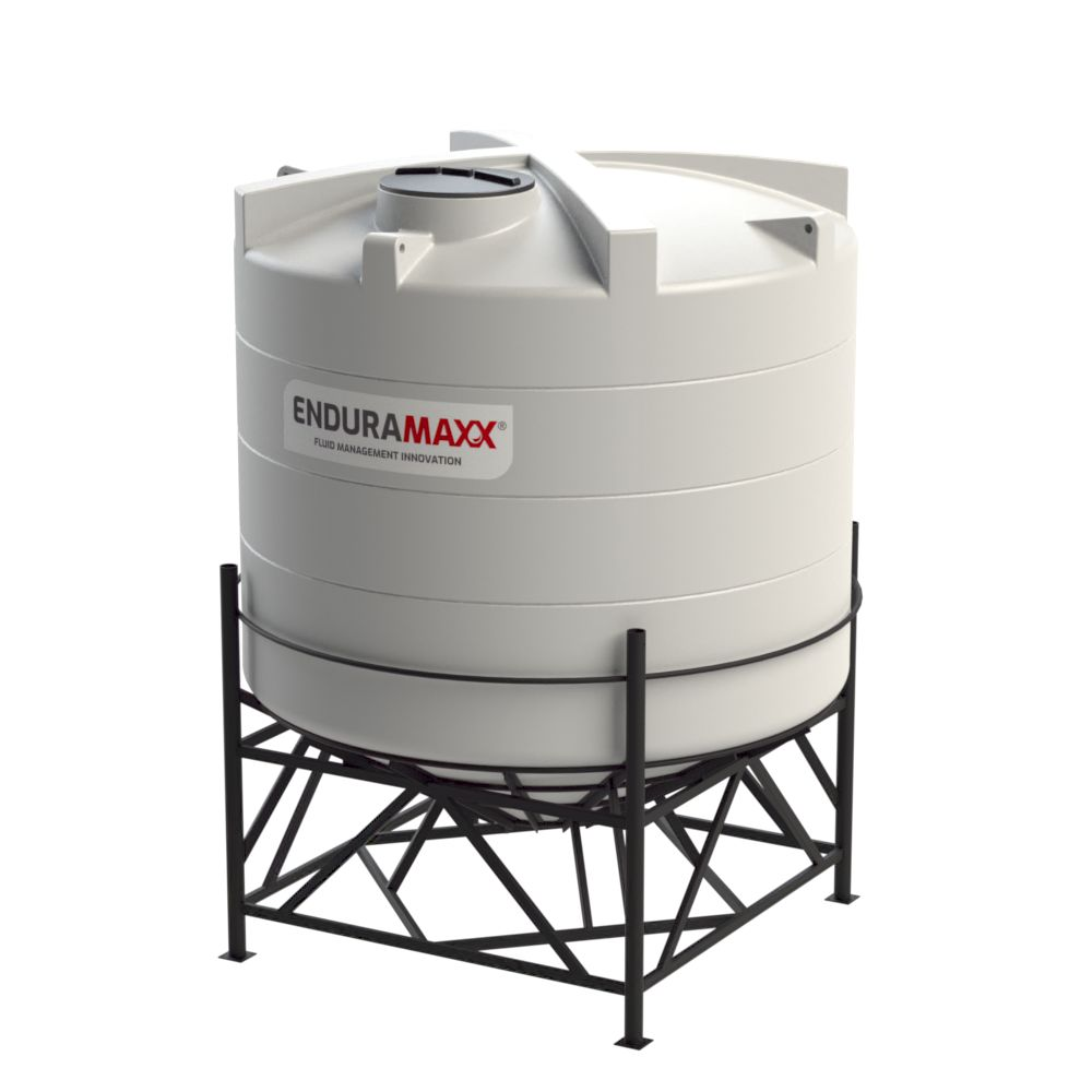 10,000 Litre 30° Closed Top Cone Tank