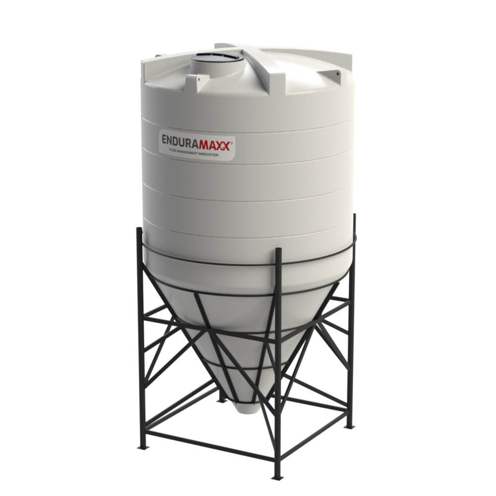 1752186002-F-12000-Litre-Cone-Tank-With-Frame-Natural