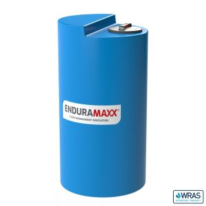 400 Litre Chemical Dosing Tank Stepped Lid - Blue