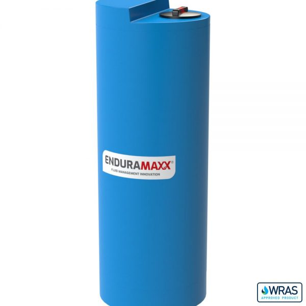 600 Litre Chemical Dosing Tank Stepped Lid - Blue