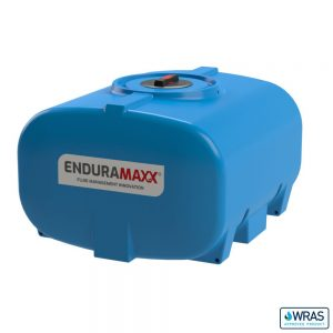 700 Litre Horizontal Transport Tank - WRAS - Blue