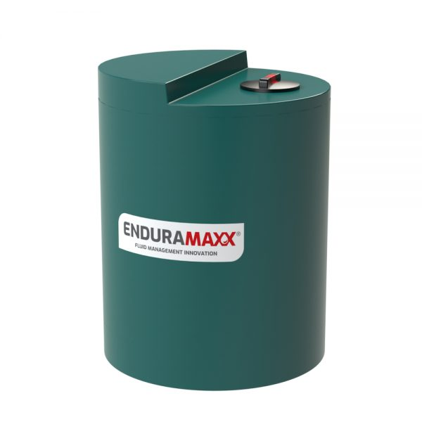 800 Litre Chemical Dosing Tank Stepped Lid - Green