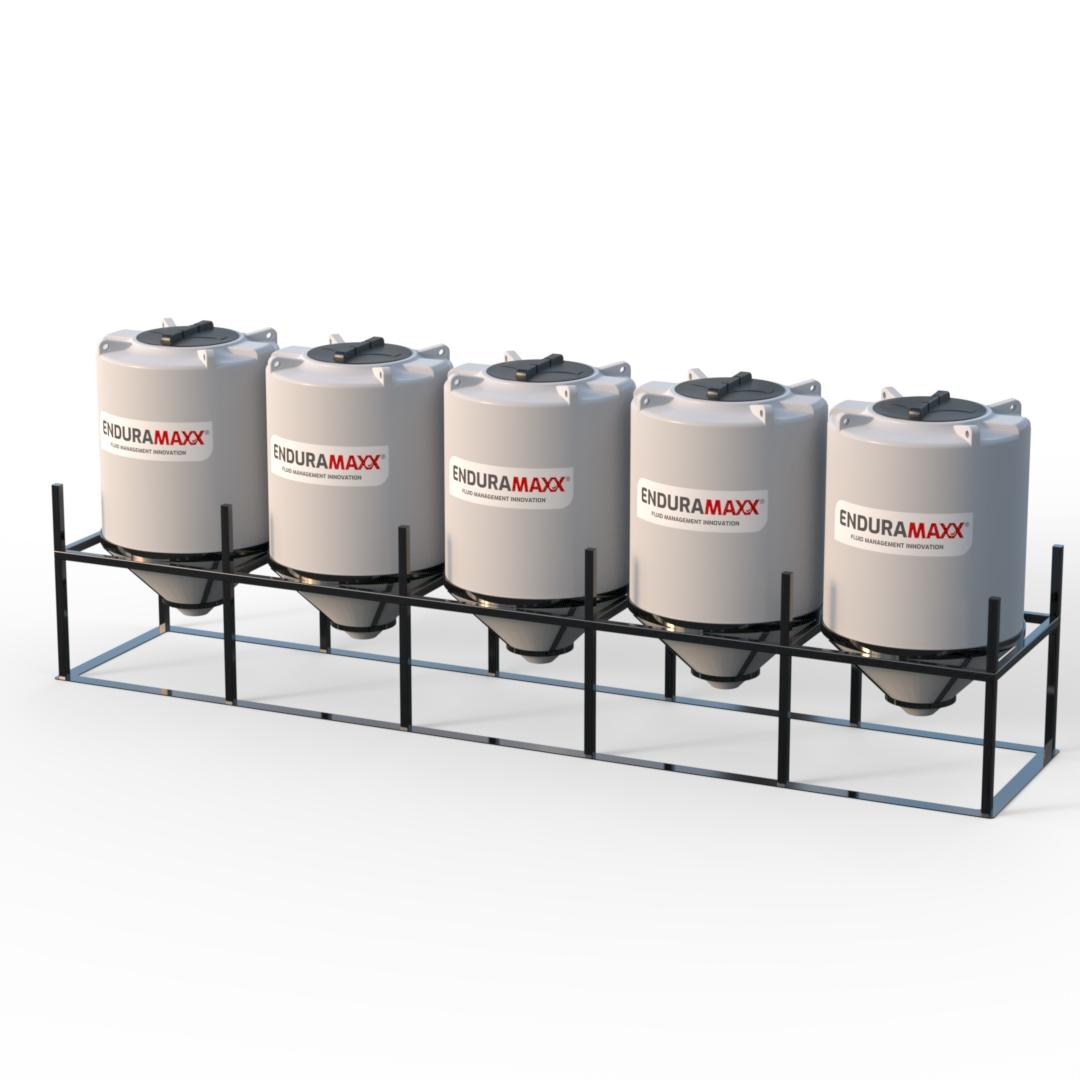 Enduramaxx Conical Mixer Tanks Custom Frames