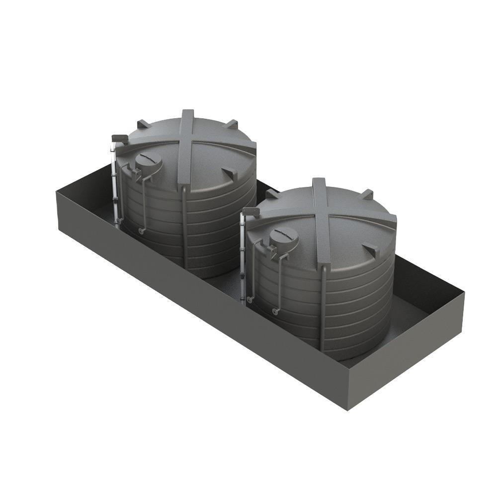 OTB25000 25000 Litre Open Bunded Chemical Tank