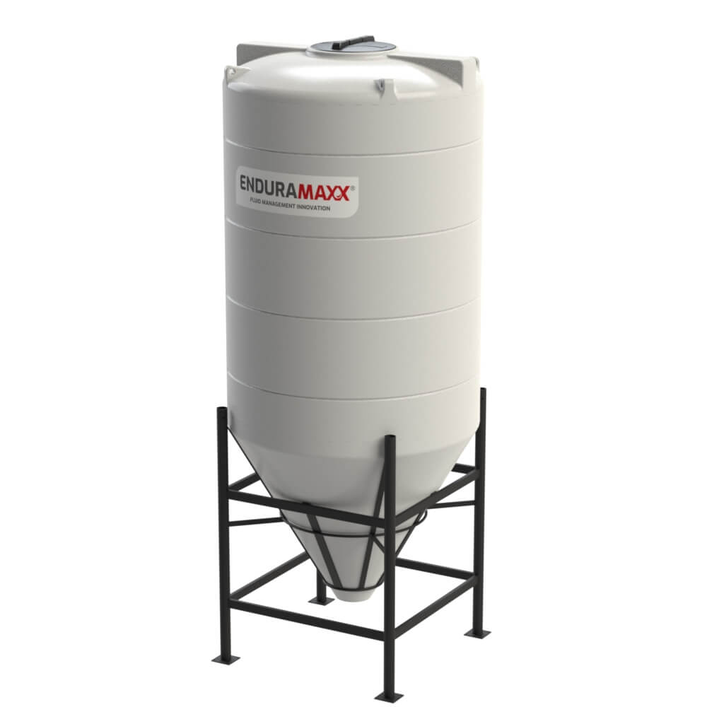 1752116002-F-3650-Litre-Cone-Tank-With-Frame-Natural