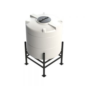 1,360 litre 30 degree Cross Link Cone Tank XLPE