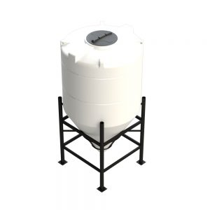 1,600 litre 60 degree Cross Link Cone Tank XLPE