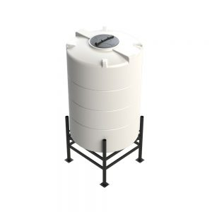 2,100 litre 30 degree Cross Link Cone Tank XLPE