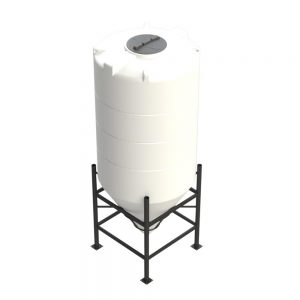 2,350 litre 60 degree Cross Link Cone Tank XLPE