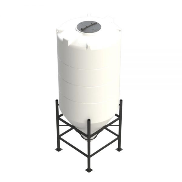 2,350 litre 60 degree Cross Link Cone Tank XLPE
