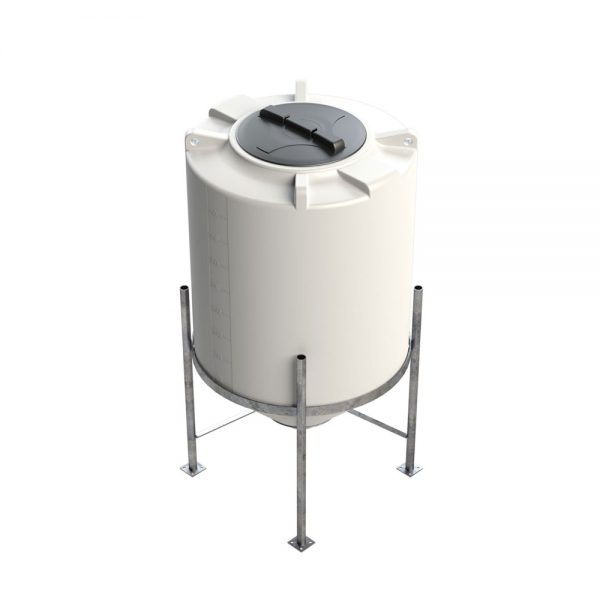 500 litre 45 degree Cross Link Cone Tank XLPE