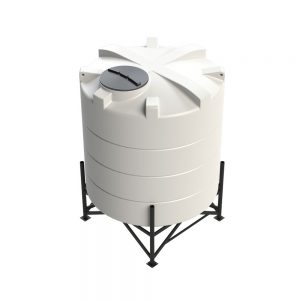 5,200 litre 15 degree Cross Link Cone Tank XLPE