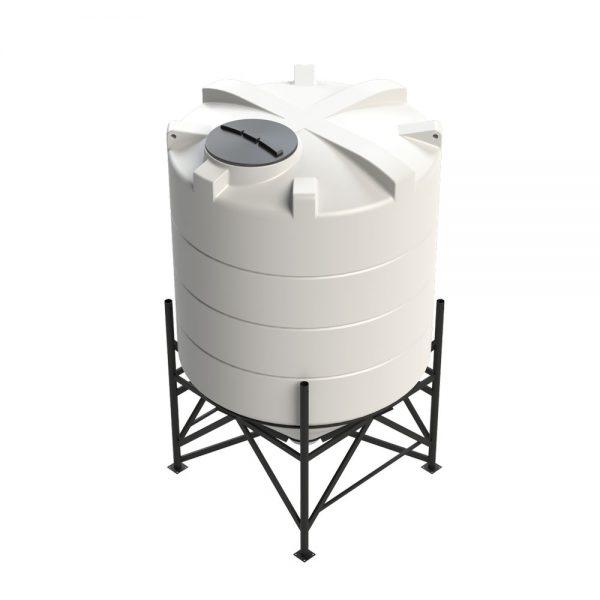 5,900 litre 45 degree Cross Link Cone Tank XLPE
