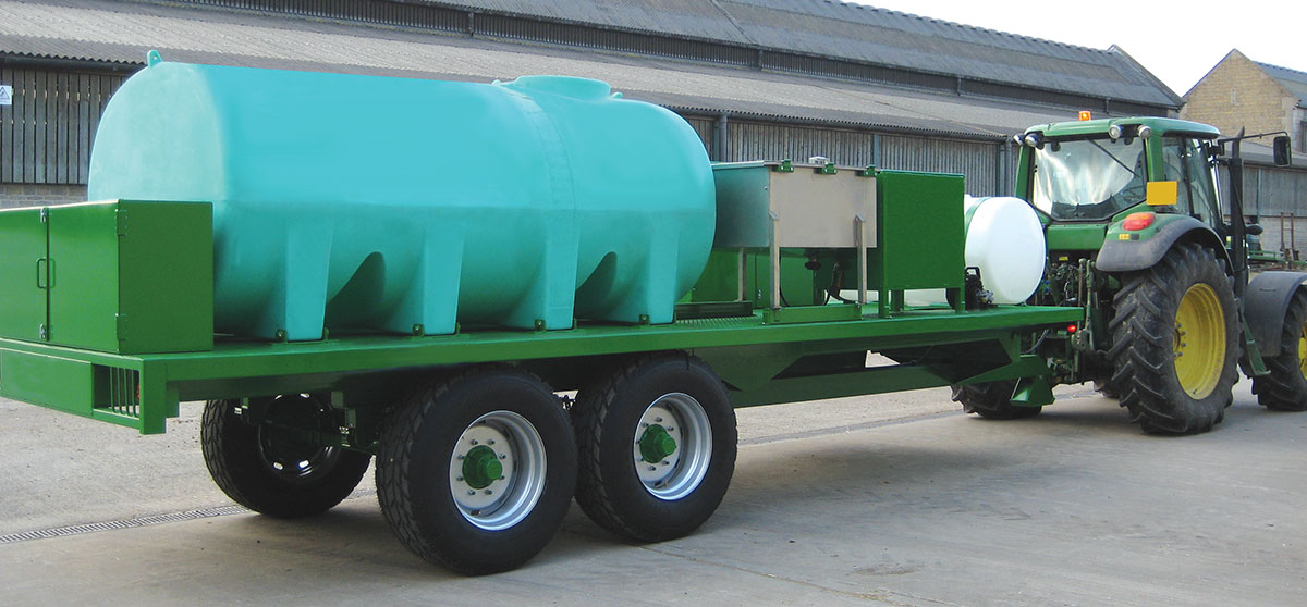 Horizontal Fertiliser Tank