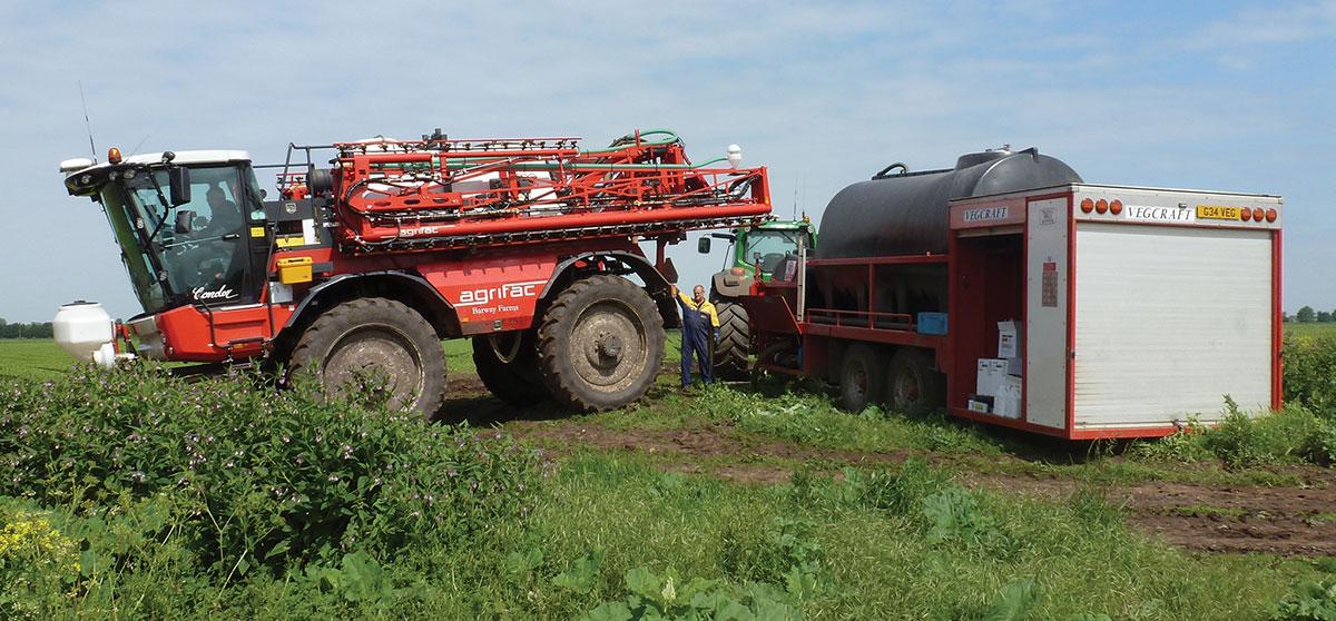 Fertiliser Tank Mixer Bowser
