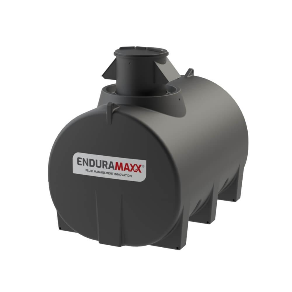 171250 5,000 Litre Horizontal Fluid CAT5 Air Gap Break Tank Black
