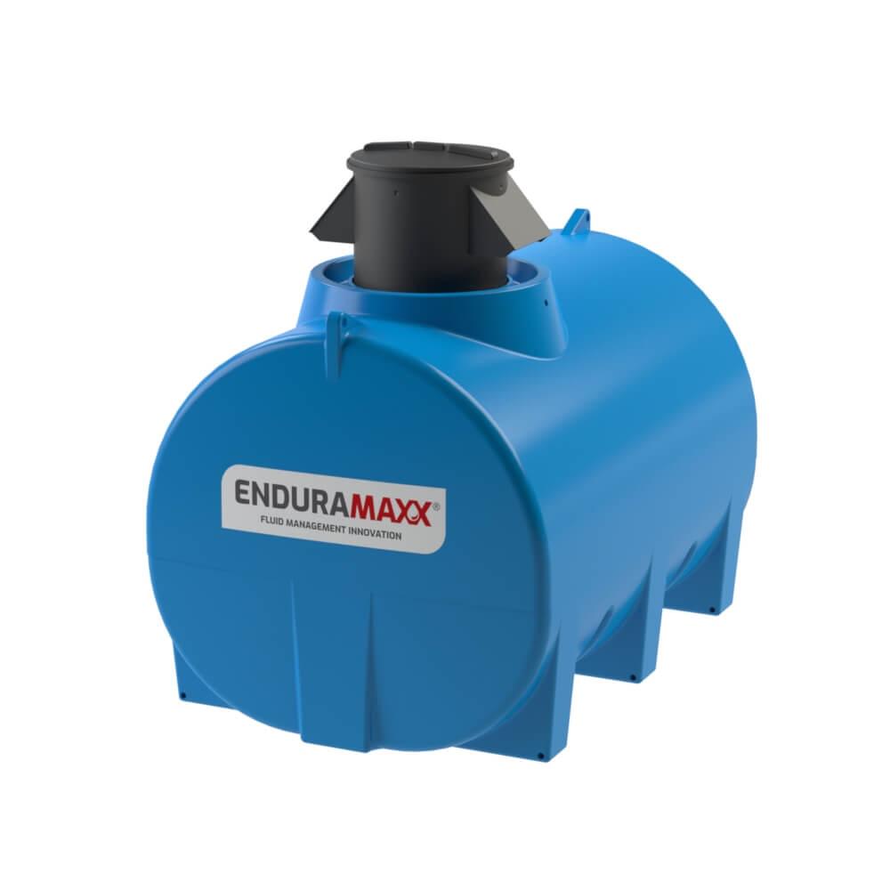 171250 5,000 Litre Horizontal Fluid CAT5 Air Gap Break Tank Blue