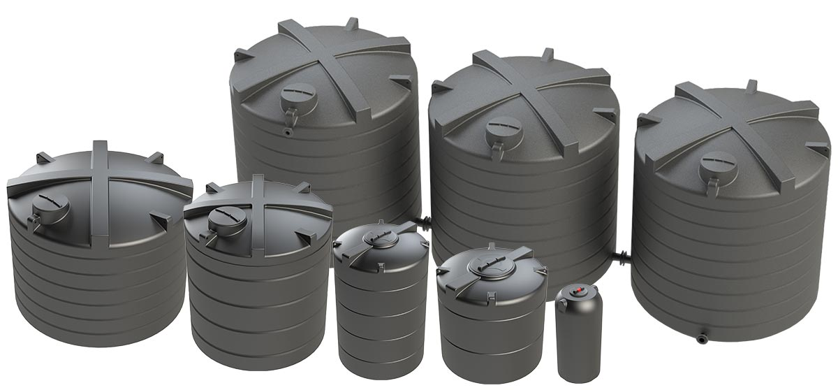 Range of Enduratank's WRAS Approved Potable Water Tanks