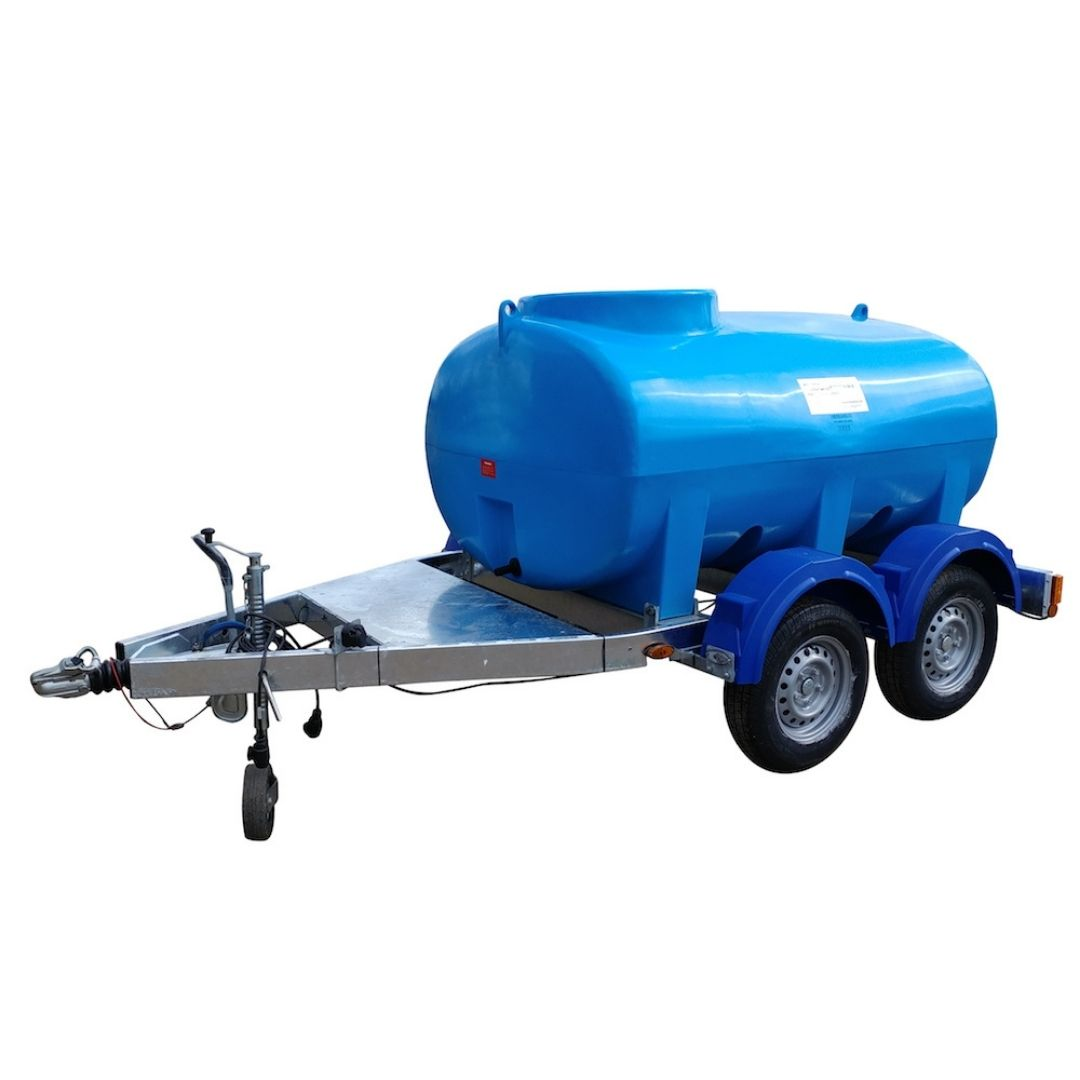 Enduramaxx 1420200-HT 2000 Litre Highway Road Tow Water Bowser