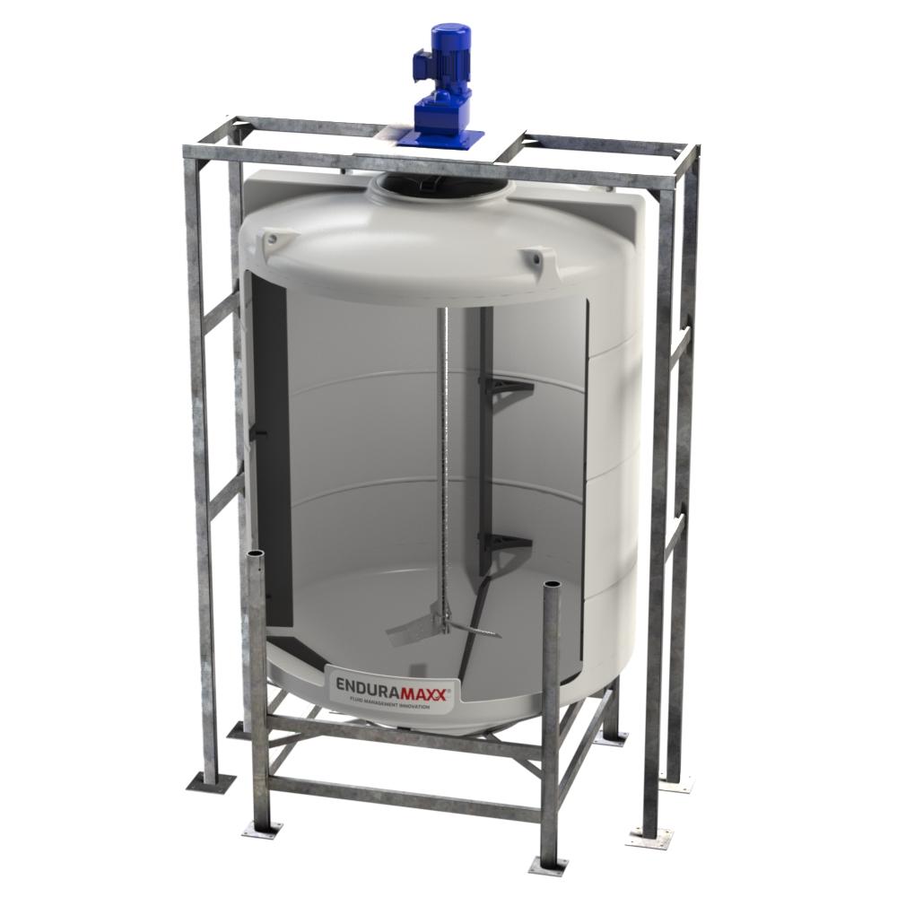 2700 Litre Conical Mixer Tank