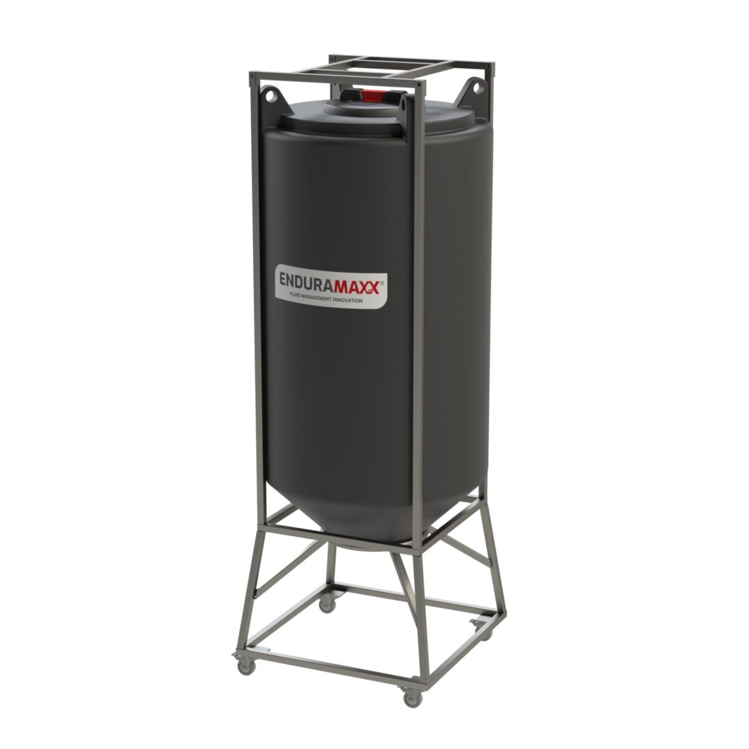 Enduramaxx 500 Litre Conical Mixer Tank With Agitator - Black