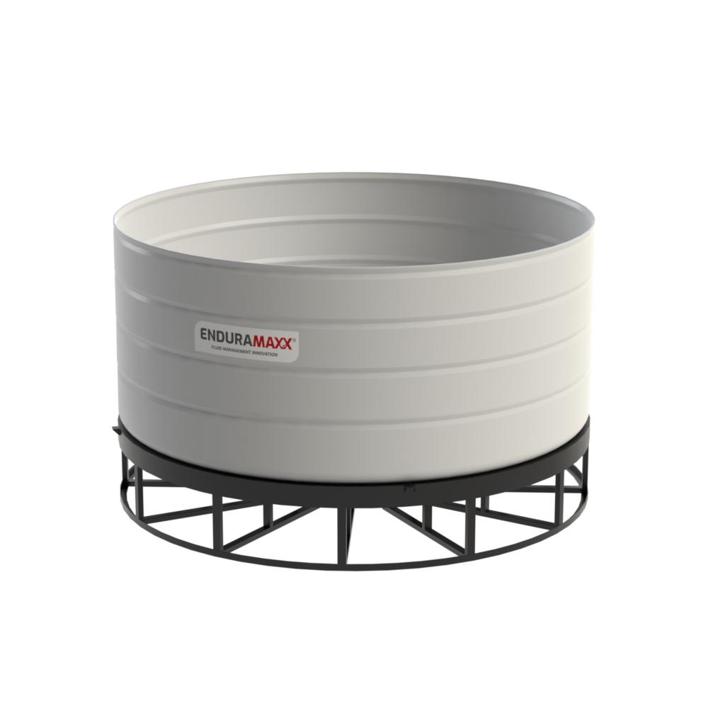 15,000 Litre 5° Open Top Cone Tank