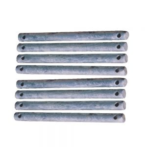 Set of 8 Mounting Pins - 198640-8