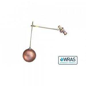 "021631-WA - 1"" Ball Cock and Float with Drop Arm- WRAS Approved"