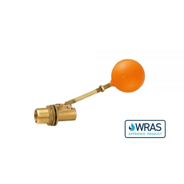 021640-WA - 1.5 Inch Brass Ball Cock and Float - WRAS Approved