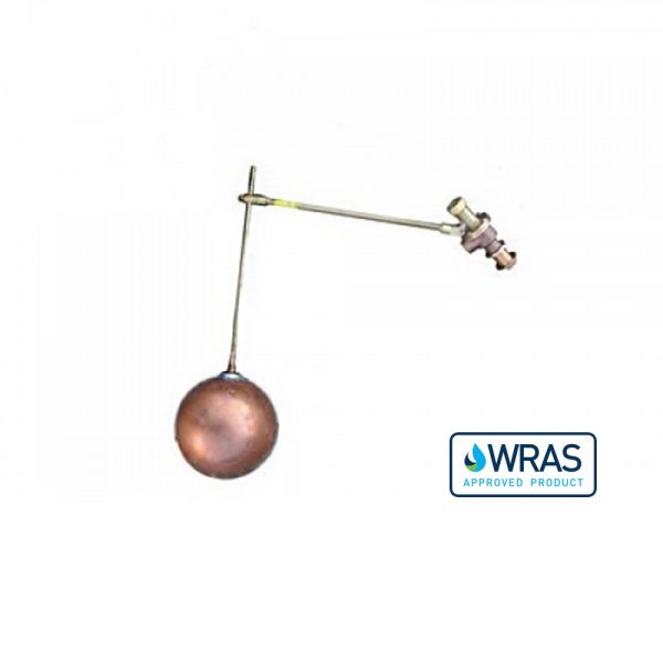 """021641-WA - 1.25"""" Ball Cock and Float with Drop Arm – WRAS Approved"""
