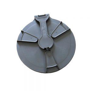 135348 455mm Plastic Hinged Lockable Lid