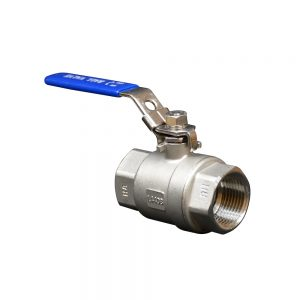 1? F/F WRAS Approved Ball Valve – Stainless Steel
