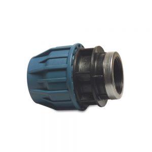 19253212 32mm Adaptor x 1.25 Inch F. BSP Compression Fitting