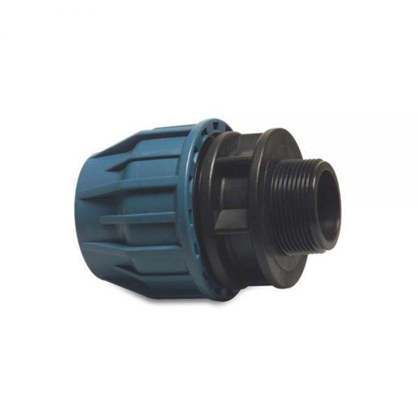 19266325 19266325 63mm Adaptor x 2.5 Inch M. BSP Compression Fitting