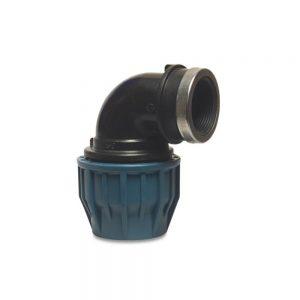 19273215 32mm Adaptor x 1.5 Inch F. BSP Elbow Compression Fitting