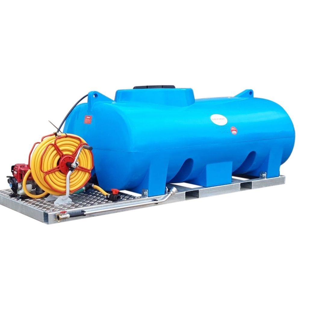 1,500 Litre Skid Mounted Plant Watering Bowser