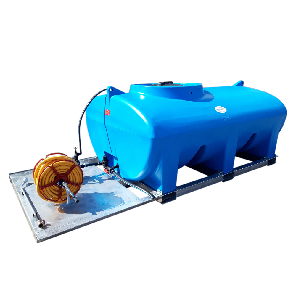 1,200 - 3,000 Litre Skid Mounted Plant Watering Bowser