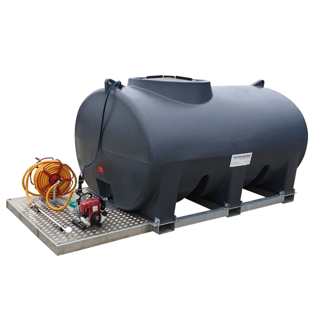 4,000 Litre Skid Mounted Plant Watering Bowser