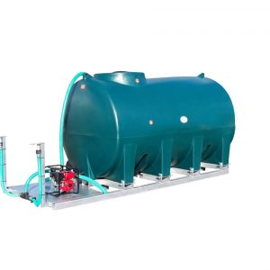 6,000 Litre Skid Mounted Dust Suppression Unit