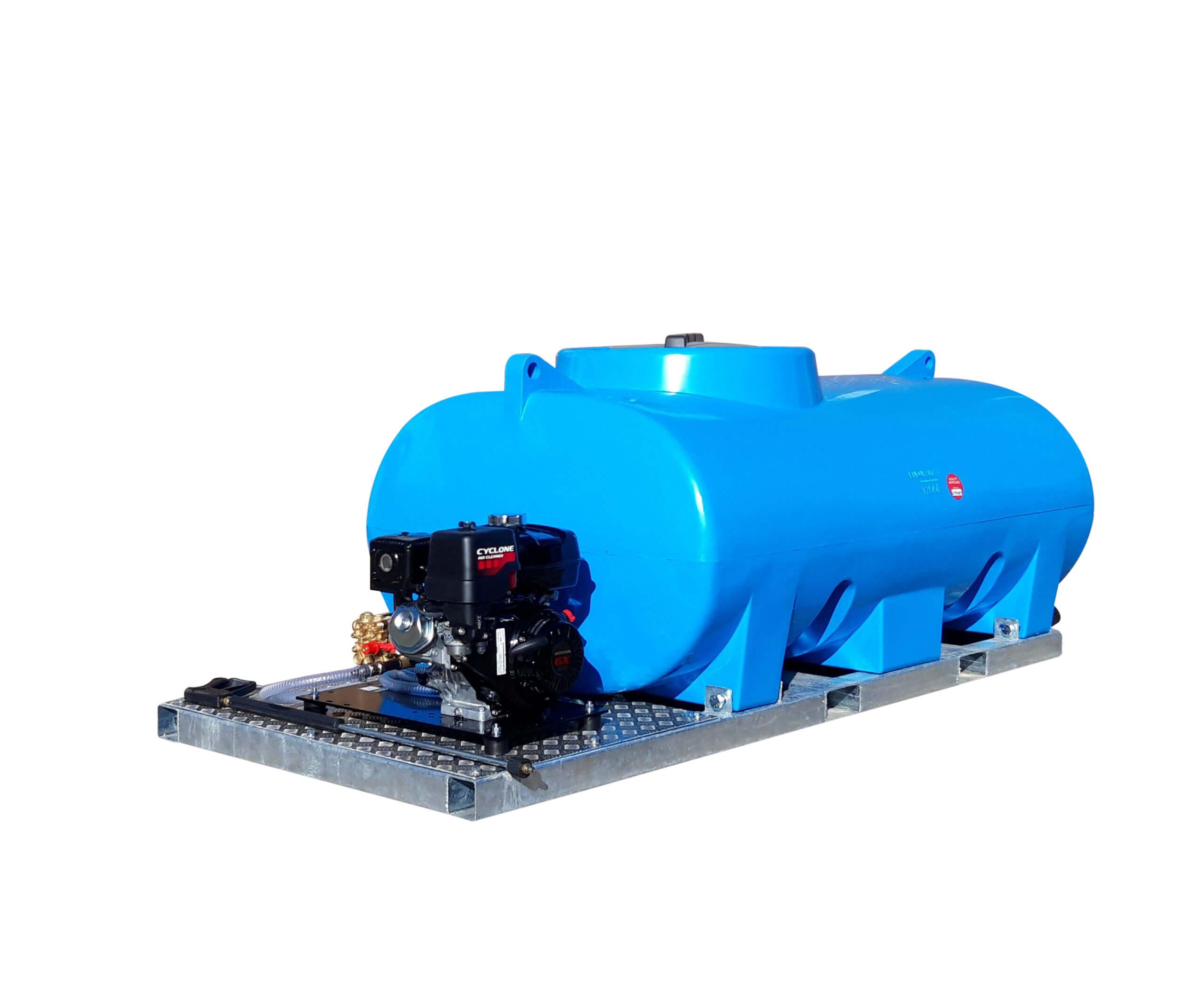 1,200 Litre Skid Pressure Washer