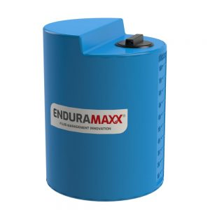100 Litre Chemical Dosing Tank Stepped Lid - Blue