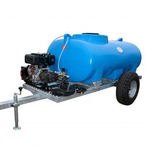 1,500 Litre Site Tow Pressure Washer Bowser